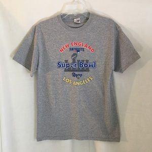 New England Patriots Super Bowl 51 Gray T Shirt